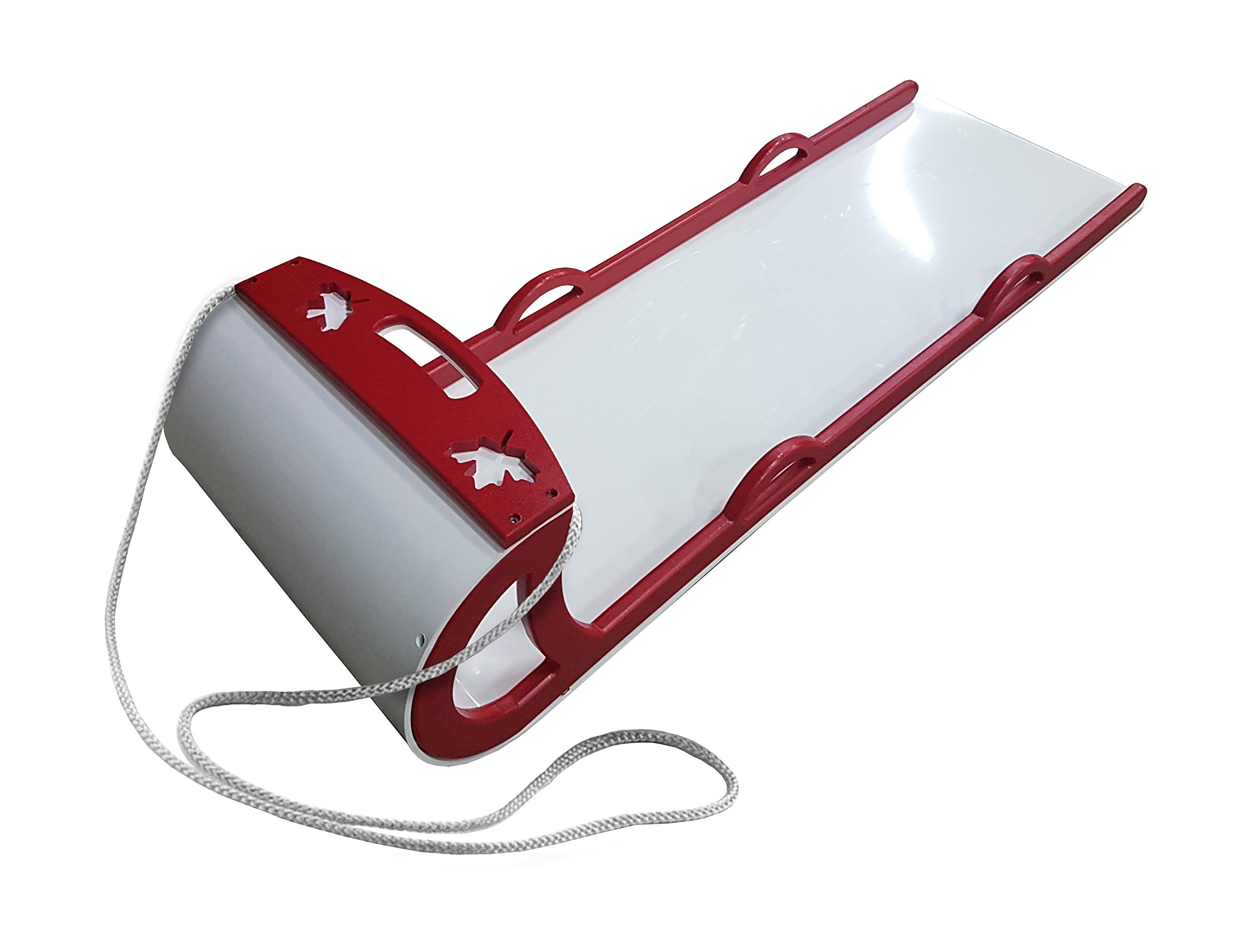 5' Toboggan Red - Recycled Plastic by BeaverSNOW