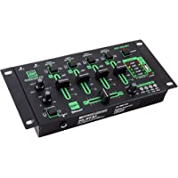 Pronomic DX-50 DJ - Mezclador USB de 4 canales con funcion de grabar y Bluetooth
