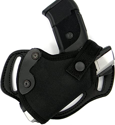 HOLSTERMART USA Right Hand Small of Back (SOB) or Side/Hip Belt Holster for Glock 17 19 19X 21 23 26 27 28 30 30s 32 33 48