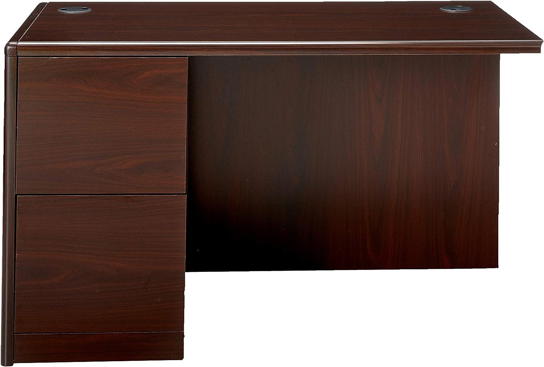 Hon 10700 Series Left Return Pedestal Desk 48 By 24 By 29 1 2 Inch Mahogany Furniture Decor