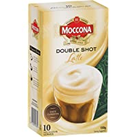 Moccona Double Shot Latte, 3 Pack of 10 sachets each (30 sachets total)