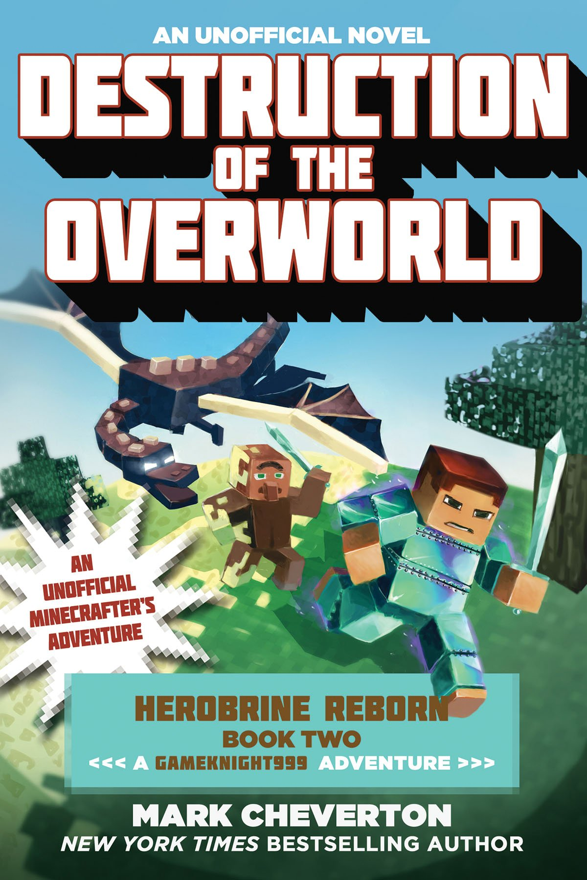 Destruction Overworld Gameknight999 Unofficial Minecrafter%C2%92s product image