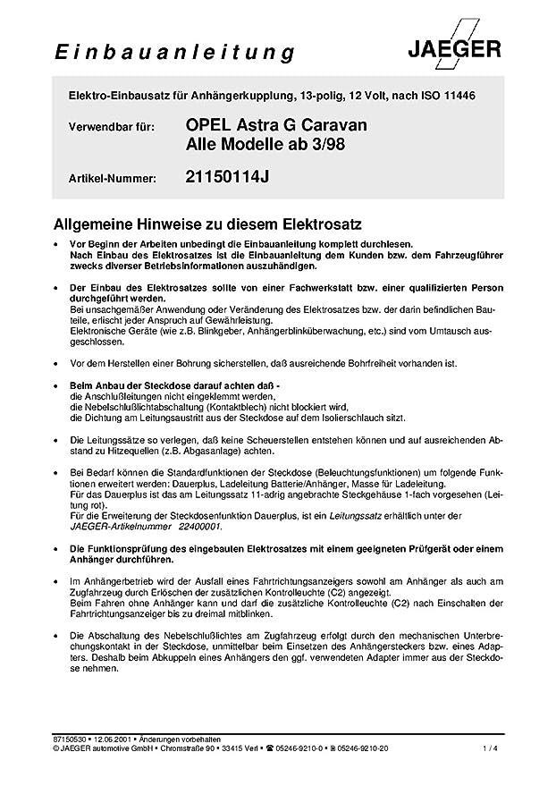 Groß Anhängerstecker Kabelplan 7 Fach Bilder - Der Schaltplan ...