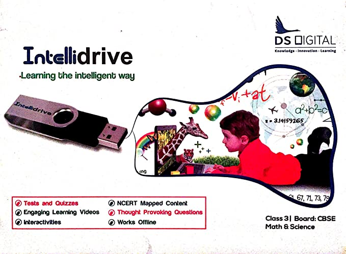 Intellidrive DS Digital Interactive Learning Content Science