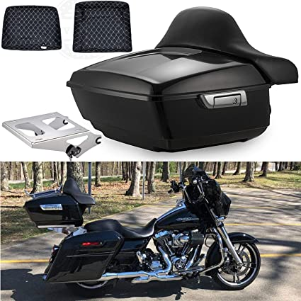 For Harley Touring 2009-2019 Luggage Rack Two-Up Tour Pak Pack Trunk King Size