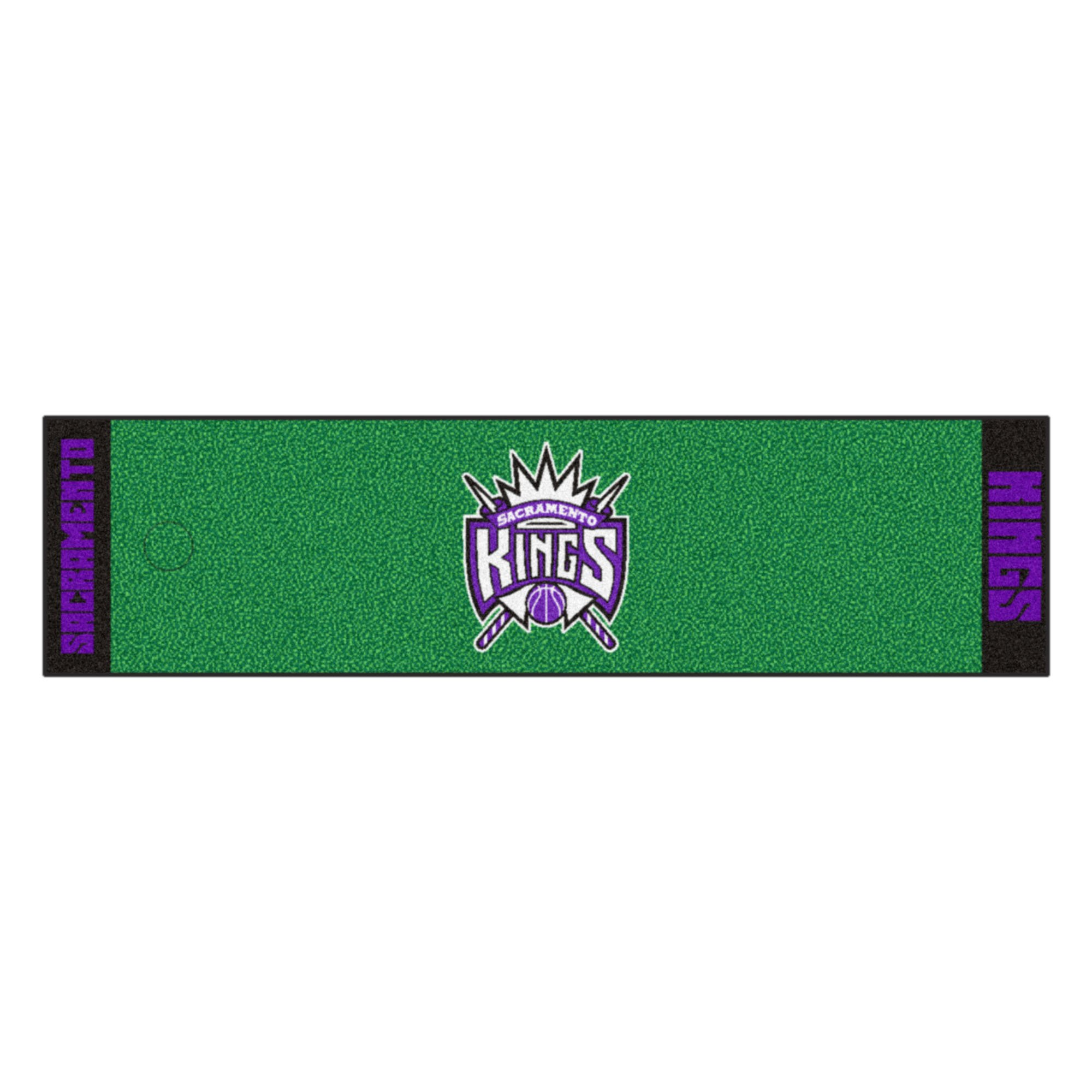 Fanmats NBA Sacramento Kings Nylon Face Putting Green Mat