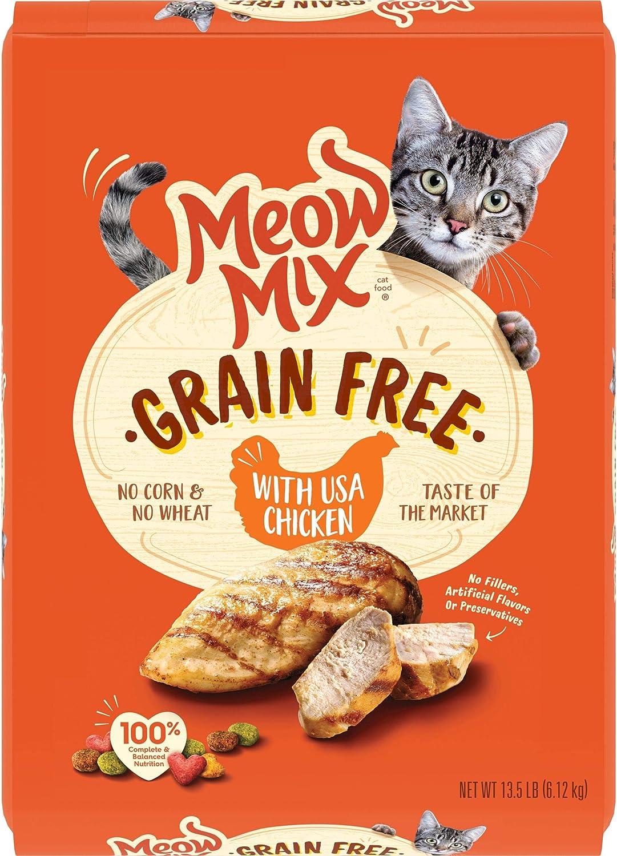 Análisis de la comida para gatos Meow Mix 4