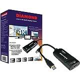 Diamond BVU5500H USB HDMI 4K Video Graphics Adapter for Multiple Monitors(3840 x 2160 DL-5500 Win 10, 8.1, 8,7)