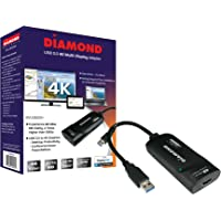 Diamond BVU5500H USB HDMI 4K Video Graphics Adapter for Multiple Monitors(3840 x 2160 DL-5500 Win 10, 8.1, 8,7)