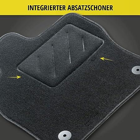 Walser Nadelfilz Velours Fußmatten Kompatibel Mit Citroen Jumper Vorne Baujahr 2001 08 2006 Auto