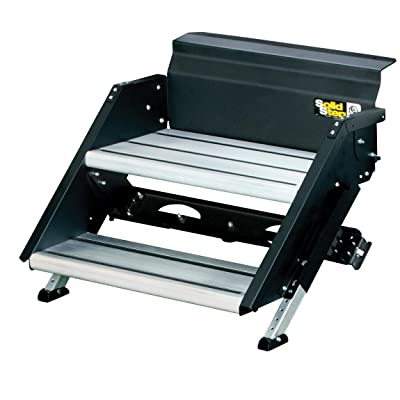 Lippert Components Premium SolidStep with Extra-Wide Top Step: Automotive