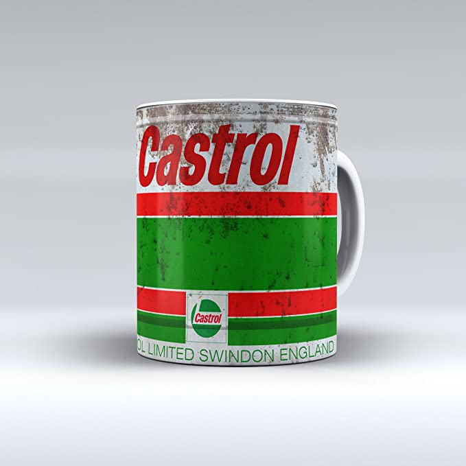 Retro Sinclair Motor Oil Vintage Mechanic Gift Garage Tea Coffee Mug Cups