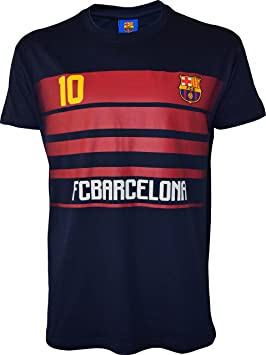 FC Barcelona - Camiseta oficial de Lionel Messi - Manga corta para hombre, talla de adulto, Hombre, azul marino, XXL: Amazon.es: Deportes y aire libre