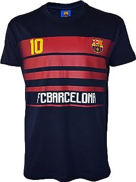 FC Barcelona - Camiseta oficial de Lionel Messi - Manga corta para hombre, talla de adulto, Hombre, azul marino, medium: Amazon.es: Deportes y aire libre