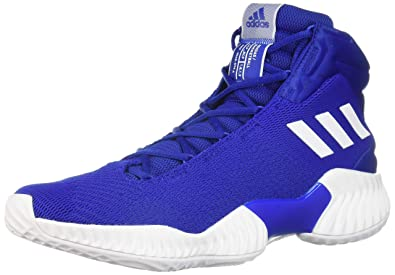 big sale 93288 1f6b1 adidas Men s Pro Bounce 2018 Basketball Shoe, White Collegiate Royal, ...
