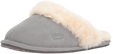 Staheekum Women s Plush Shearling Lined Slipper B00ESNWRFQ