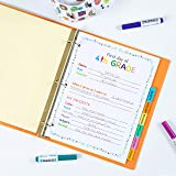 Avery 8-Tab Binder Dividers for School, Medical Office Supply, or Home Organization, Insertable Multicolor Big Tabs, 6…