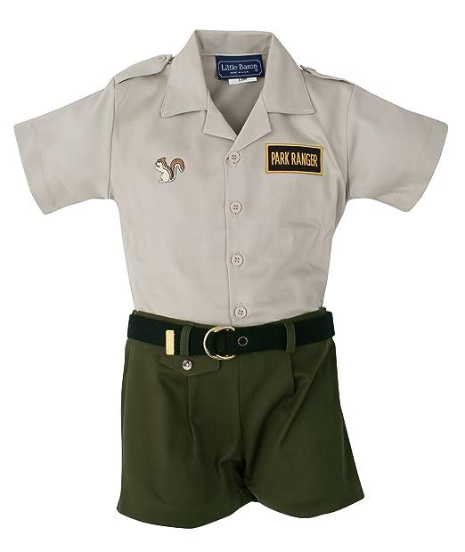 Amazon.com: Infant & bebé Park Ranger Outfit, Multicolor ...