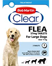Bob Martin Flea Tablets for large Dogs over 11kg, 3 Tablets
