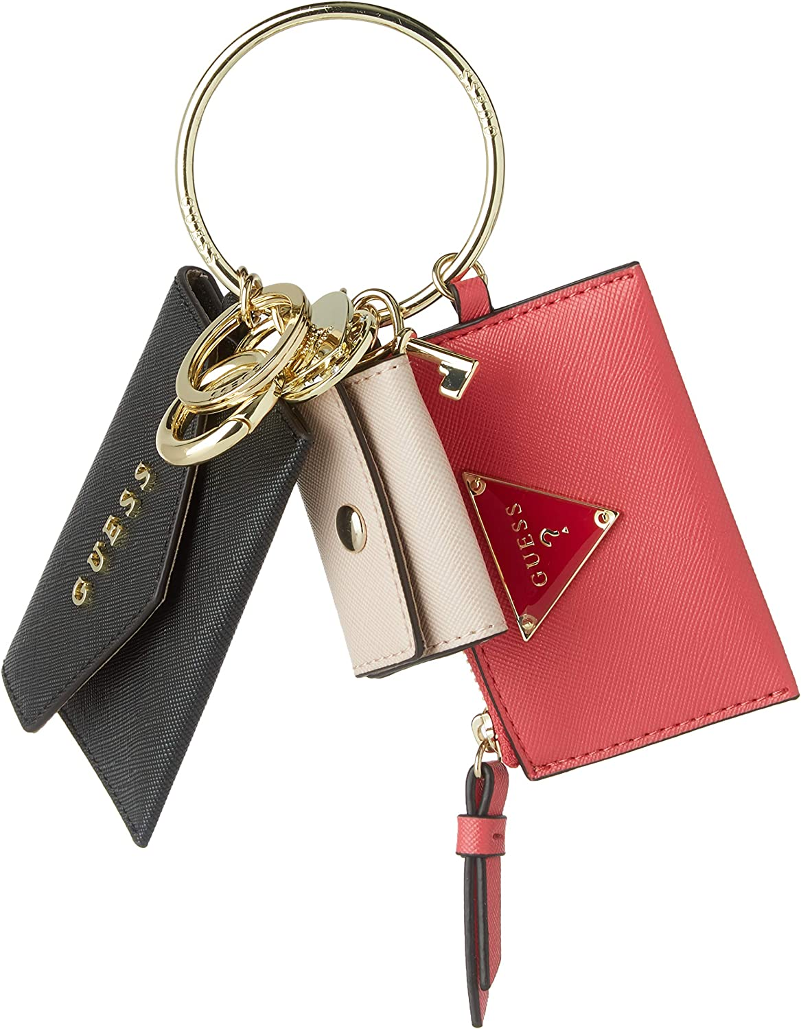 GUESS3 Pouch KeychainMujerEstuches de llavesNegro (Black)1x1x1 Centimeters (W x H x L): Amazon.es: Zapatos y complementos