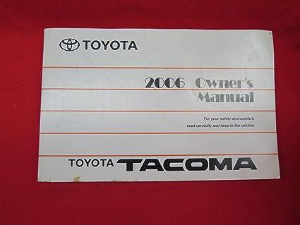 amazon com 2006 toyota tacoma owners manual toyota car electronics rh amazon com 2014 toyota tacoma owners manual pdf 2013 toyota tacoma owners manual for sale