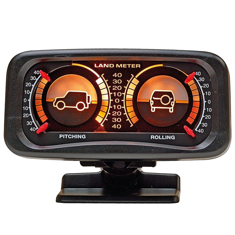 SUMEX 2808014 Carplus - Inclinometro Retroilluminato, 4X4, Nero Sumex Italia S.R.L.
