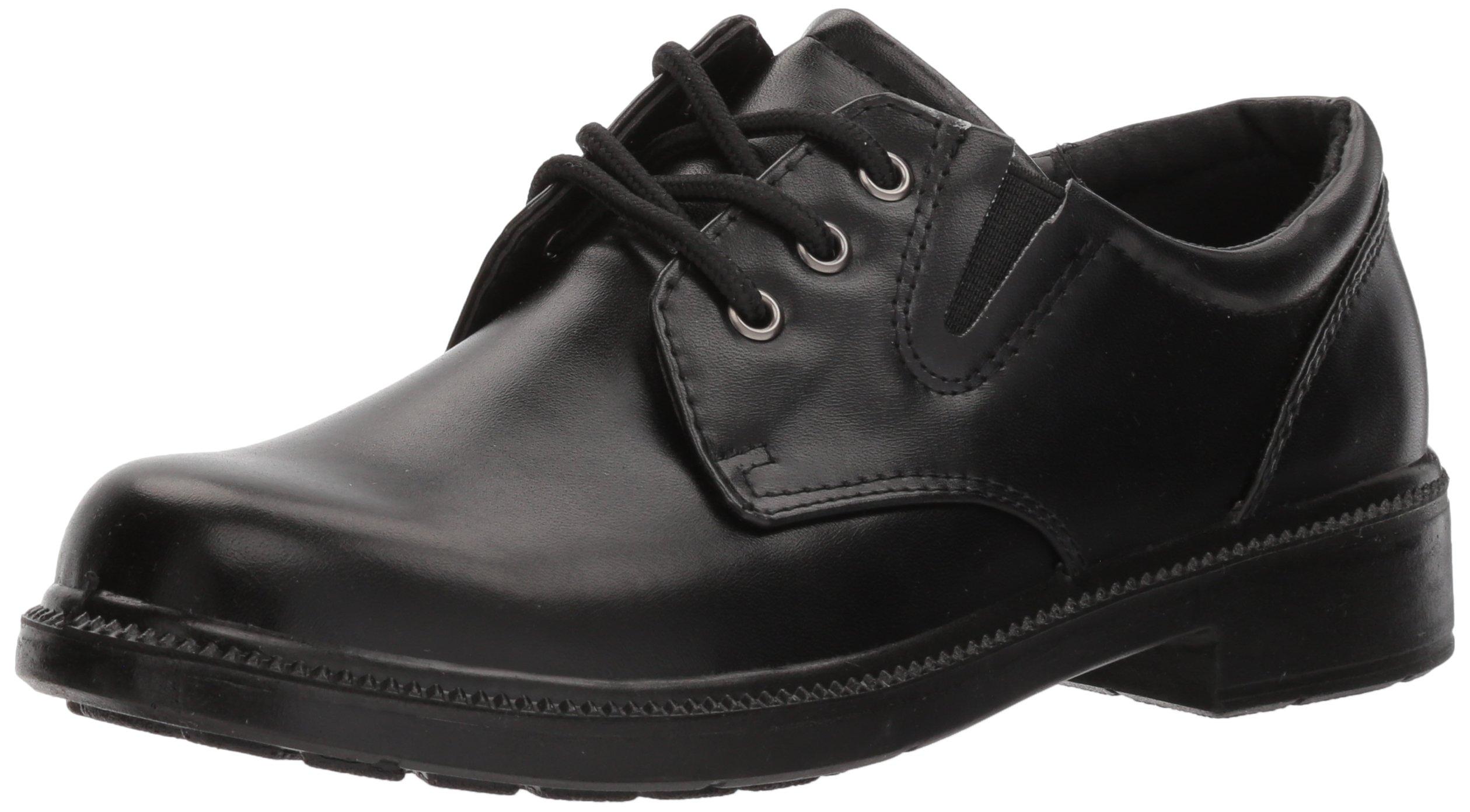French Toast Boys Damien Uniform Dress Shoe Black 13 M US Little Kid Black