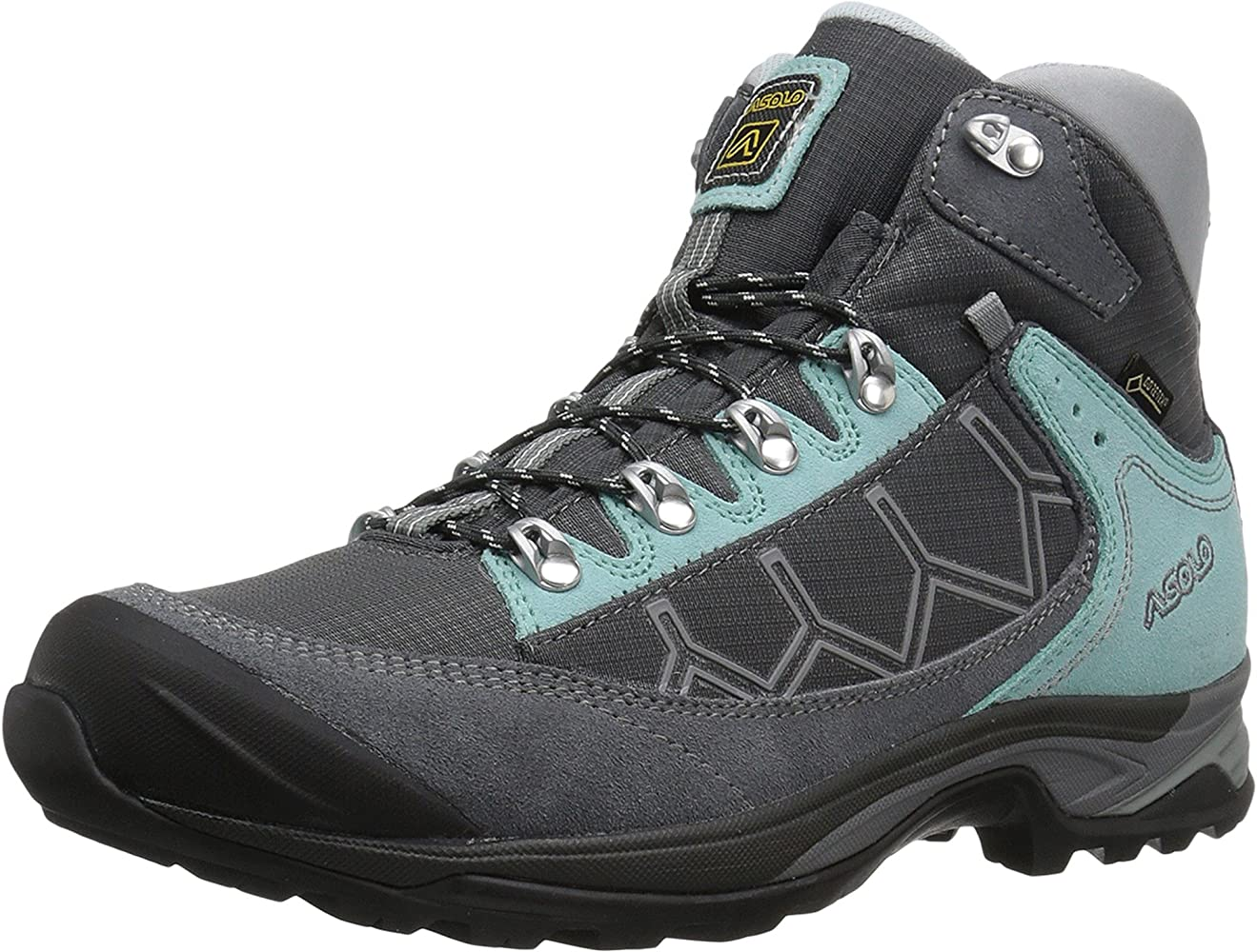 on feet shots of multiple colors recognized brands Women's Falcon GV Hiking Boot Grey/Graphite Fall 2017-7.5