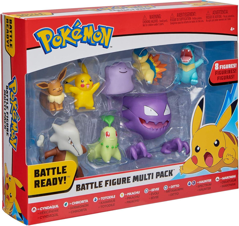 Pokémon Battle 8-Figure Pack