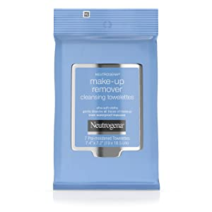 Neutrogena Makeup Remover Cleansing Towelettes & Wipes, Travel Size,7 Count