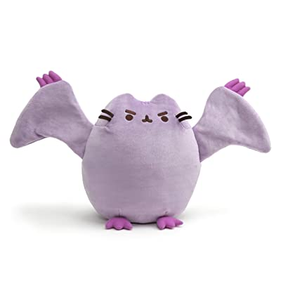 "GUND Pterodactyl Pusheen Dinosaur Cat Plush Stuffed Animal, Purple, 9"": Toys & Games"