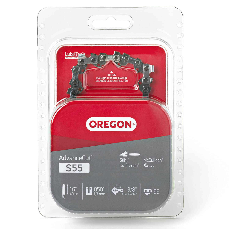 Amazon.com: Oregon S55 AdvanceCut 16-Inch Chainsaw Chain Fits McCulloch,  Stihl: OREGON CUTTING SYSTEMS: Garden & Outdoor