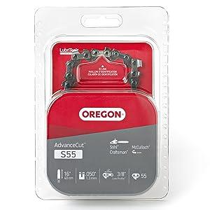 Oregon S55 AdvanceCut 16-Inch Chainsaw Chain Fits McCulloch, Stihl
