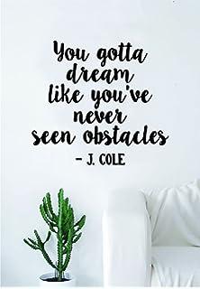 Amazon Com J Cole To Appreciate Quote Wall Decal Sticker Room Art