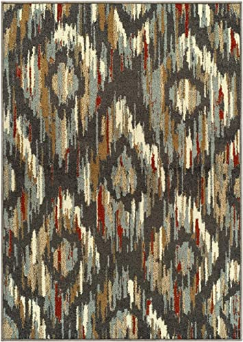 Superior Solitaire Area Rug 8'X10'