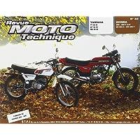 revue moto technique n°32. yamaha ty 50m-honda 250-400T