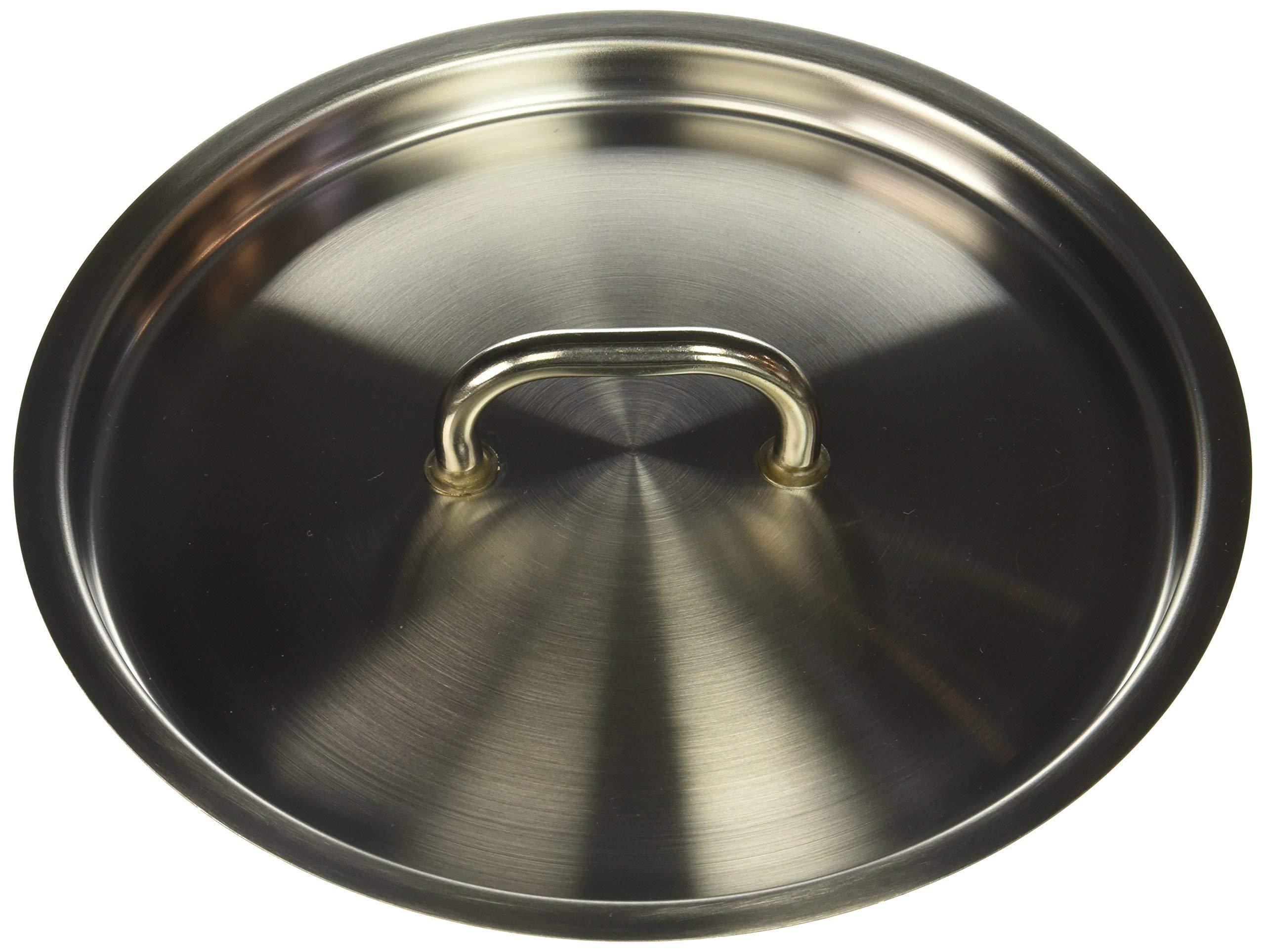 Matfer Bourgeat Lid for Matfer Cookware, 9 1/2-Inch, Gray