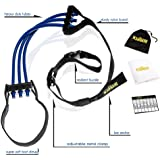 KLASTILL Pull up & Chin up Workout Assist Band | Heavy Resistance for Legs & Upper Body Exercise | Elastic Assistance for Women & Men | Fitness Towel + Weekly Tracker...