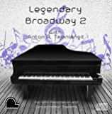 Legendary Broadway 2 - QRS Pianomation and Baldwin Concertmaster Compatible Player Piano CD