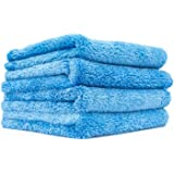 The Rag Company - Eagle Edgeless 500 - Professional Korean 70/30 Blend Super Plush Microfiber Detailing Towels, 500GSM…