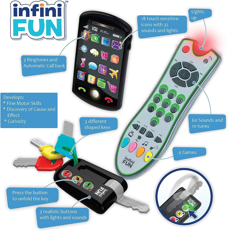 Kurio - Juegos electrónicos para niños, teléfono, llaves y control remoto (DES0889) , color/modelo surtido