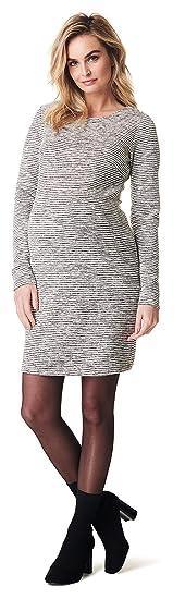 Noppies Damen Dress Ls Heather Kleid