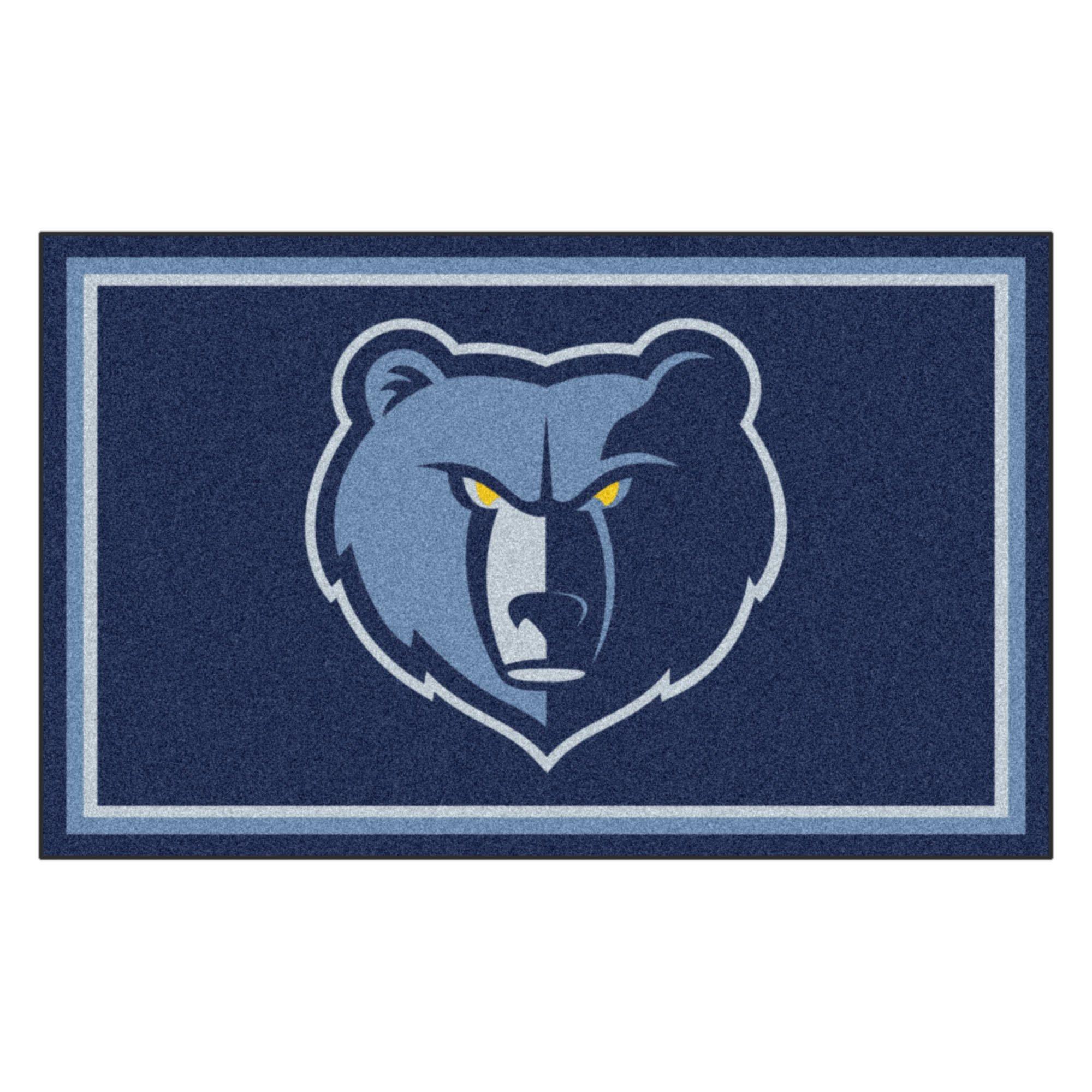 FANMATS 20432 Team Color 44''x71'' NBA - Memphis Grizzlies Rug