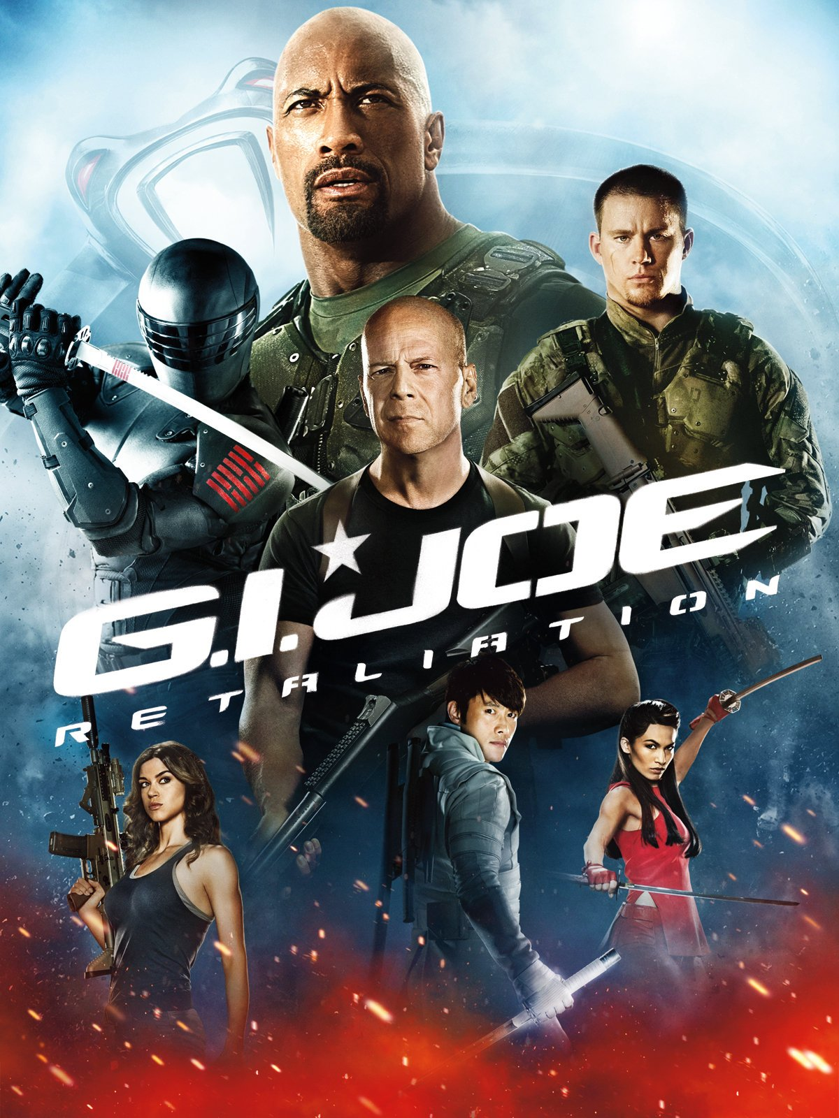 Amazon GI Joe Retaliation Bruce Willis Channing Tatum