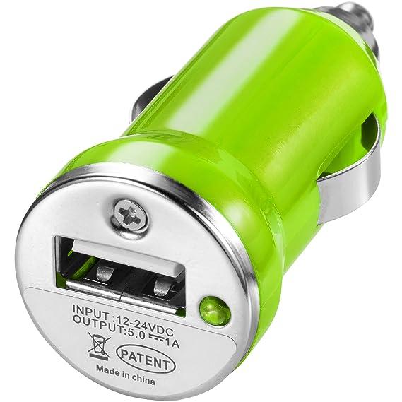 Bullet - Adaptador para coche modelo Casco (2.2 x 5.7 x 2.4 cm/Lima