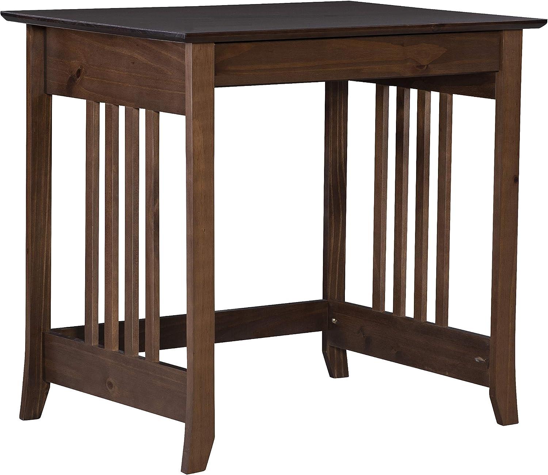 Linon Home Decor Products Emilio Laptop Desk, Cappuccino