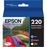 Epson T220520-S DURABrite Ultra Color Combo Pack Standard Capacity Cartridge Ink (Epson Expression XP-420,WF-2630, WF…