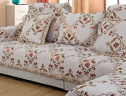 PW Toalla de sofá de Estilo rústico Cojín de sofá Color de ...