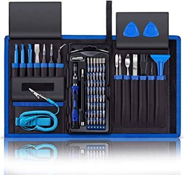 LB1 High Performance Professional 54 Piece Tool Screwdriver Bit Set Repair Kit Hand Tool Kit for Lenovo ThinkPad 14 Laptop 4GB Memory 500GB Hard Drive Black T430-23426QU