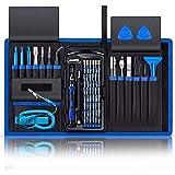 80 in 1 Precision Screwdriver Set,Magnetic Screwdriver Bit Kit,Professional Electronics Repair Tool Kit with Flexible…